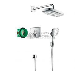 HANSGROHE Душевая система термостатическая встроенная Raindance Select E (27296000)