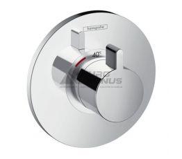 HANSGROHE Внешняя часть смесителя термостатического для душа Ecostat S (15756000)