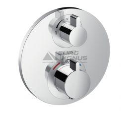 HANSGROHE Внешняя часть смесителя термостатического для ванны Ecostat S (15758000)