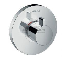 HANSGROHE Внешняя часть смесителя термостатического для душа ShowerSelect S (15741000)