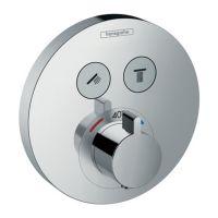 HANSGROHE Внешняя часть смесителя термостатического для душа ShowerSelect S (15743000)