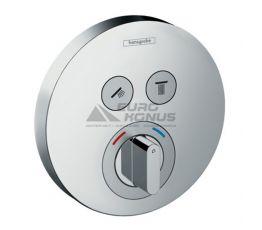 HANSGROHE Внешняя часть смесителя термостатического для душа ShowerSelect S (15748000)