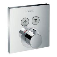 HANSGROHE Внешняя часть смесителя термостатического для душа ShowerSelect (15763000)