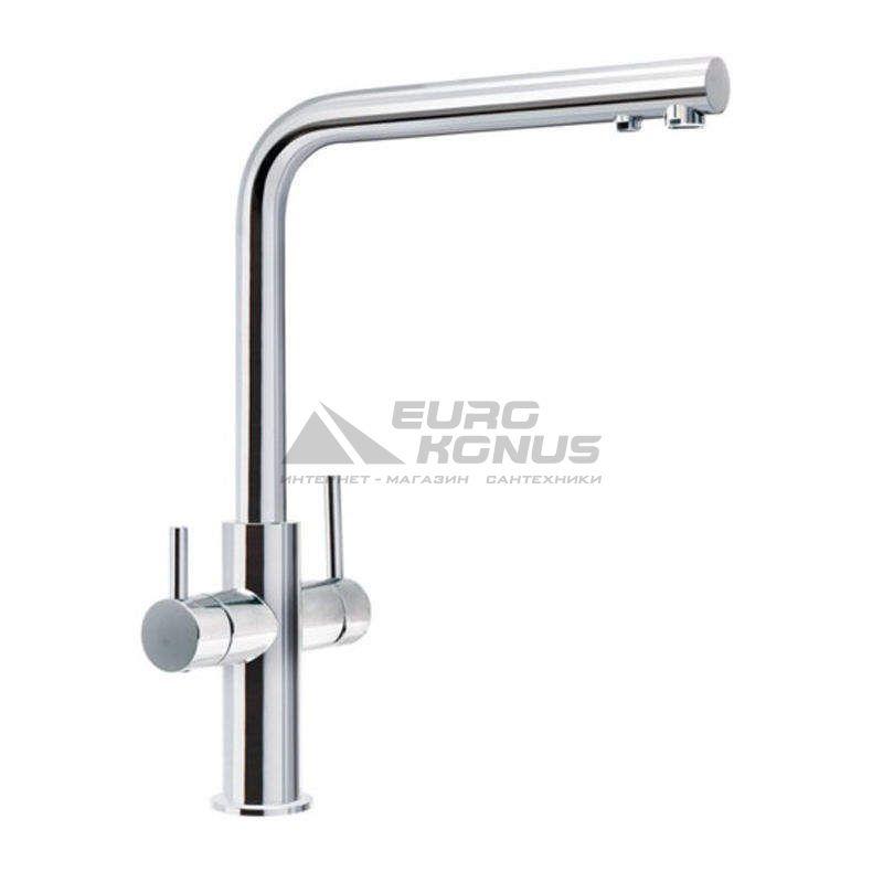FRANKE Смеситель для питьевой воды двухрычажный NEPTUNE CLEAR WATER хром (115.0370.689)