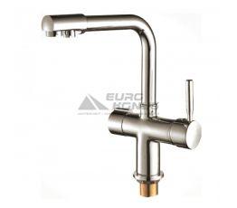 HAIBA Смеситель для питьевой воды двухрычажный Hans 021 R.S. Color