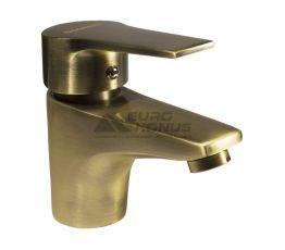 DOMINO Смеситель для умывальника однорычажный Blitz DBC-101 Bronze