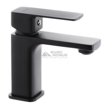 HAIBA Смеситель для умывальника однорычажный Kubus 001 Black