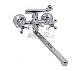 CHAMPION Смеситель для ванны двухвентильный Smes 146 керамика (CH0095)