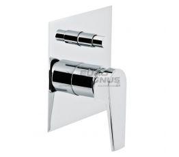 GENEBRE Смеситель для ванны однорычажный скрытого монтажа Klip (64116 16 45 66)