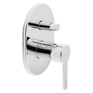 GENEBRE Смеситель для ванны однорычажный скрытого монтажа Oslo (65116 19 45 66)