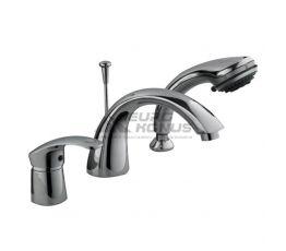 HAIBA Смеситель для ванны однорычажный скрытого монтажа Mars 022