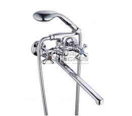 ZEGOR Смеситель для ванны двухвентильный T65-DTZ-A827