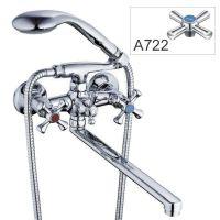 ZERIX Смеситель для ванны двухвентильный T63-D4Q-A722