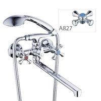 ZERIX Смеситель для ванны двухвентильный T63-D5Q-A827