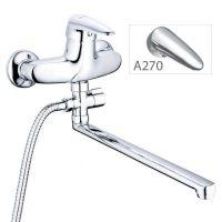 ZERIX Смеситель для ванны однорычажный Z63-ECT-A270