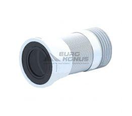 АНИ Пласт Труба (удлинитель) гибкая для унитаза с резьбой 110 мм (K828R)