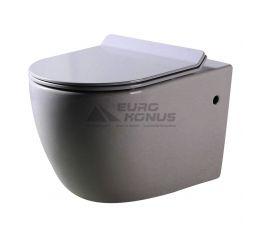 DUSEL Унитаз подвесной c крышкой и сиденьем Slim Soft-close Belisi (DWHT10200930R)
