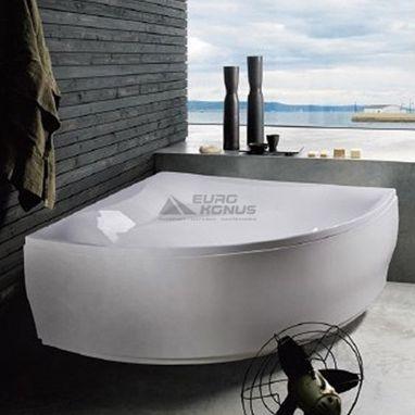 AM.PM Ванна акриловая угловая Bliss L (W55A-150C150W-A)