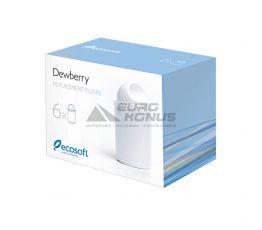 ECOSOFT Комплект картриджей для фильтра-кувшина Dewberry 6 шт. (CRVK6DEWBECO)