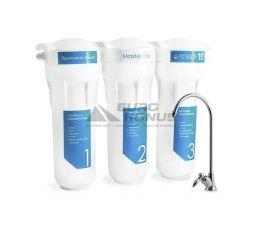 ORGANIC Проточная тройная система очистки воды Master Trio