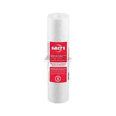 """Filter1 Картридж механический полипропиленовый 2,5х10"""" 5мкм для горячей воды (CPV2510HWF1)"""