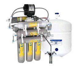 BLUEFILTERS Фильтр обратного осмоса молекулярный с пермеатным насосом (Elite NL 8PP C75-12.12MP)