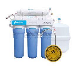 ECOSOFT Фильтр обратного осмоса с минерализатором Absolute 6-50M (MO650MECO)