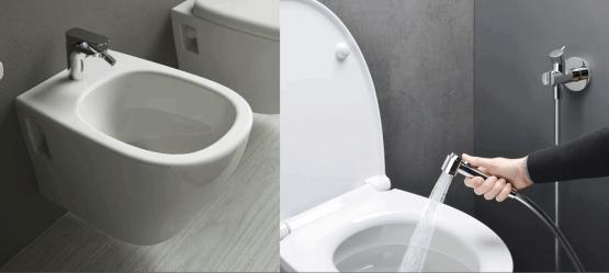Что выбрать: гигиенический душ, крышку биде или биде