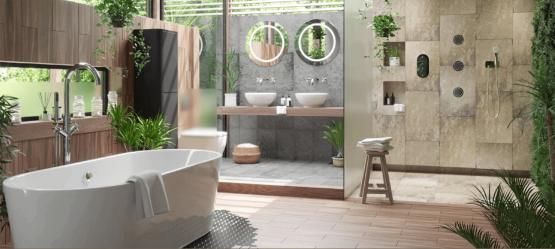 В стиле Дзен: превращаем ванную в СПА-салон