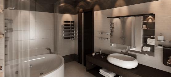 Как организовать антураж ванной комнаты