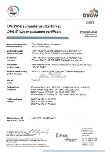 Сертификат Firat (Фират) 3