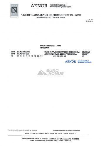 Сертификат Firat (Фират) 8