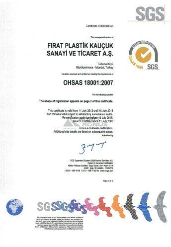Сертификат Firat (Фират) 10