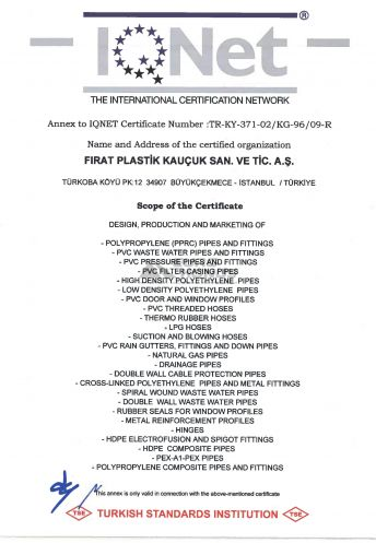 Сертификат Firat (Фират) 14